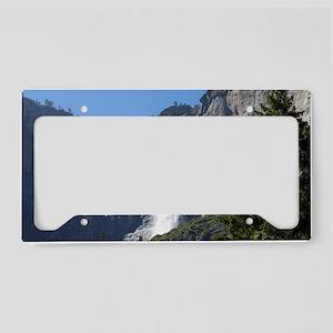 Yosemite Upper Falls License Plate Holder