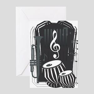 tabla Greeting Card