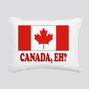 CANADA,EH? Rectangular Canvas Pillow