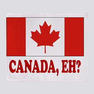 CANADA,EH? Throw Blanket