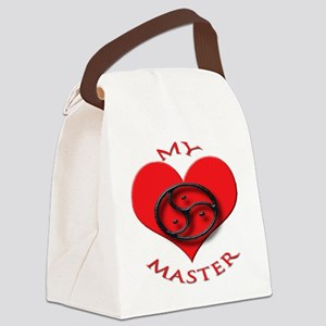 BDSM love my valentine master Canvas Lunch Bag