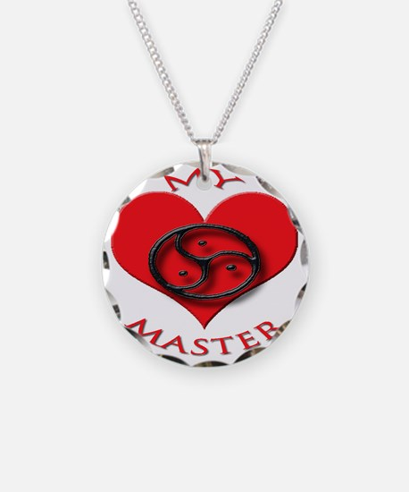 BDSM love my valentine maste Necklace