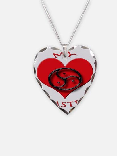 BDSM love my valentine master Necklace
