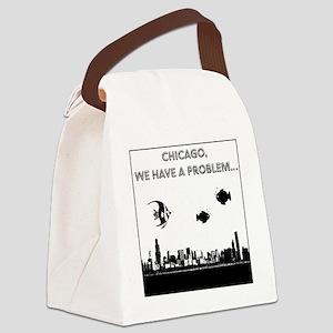 chicago problem Canvas Lunch Bag