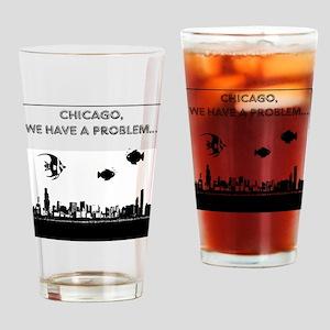 chicago problem Drinking Glass
