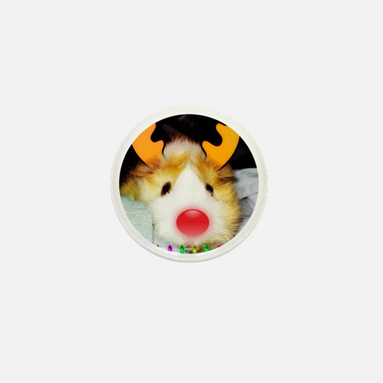 Guinea Pig Christmas Mini Button