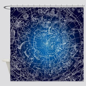 Celestial Map Shower Curtain