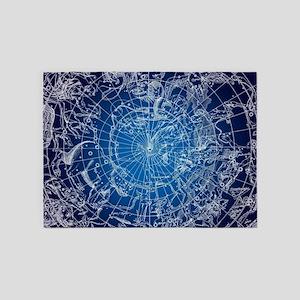 Celestial Map 5'x7'Area Rug