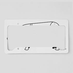 pig diagram1 License Plate Holder