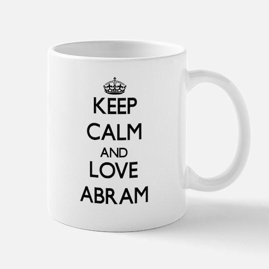 Keep Calm and Love Abram Mugs