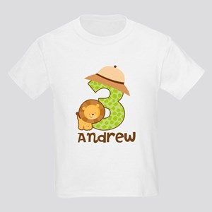 Personalized 3rd Birthday Kids Light T-Shirt