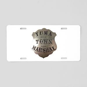 Yuma Town Marshal Aluminum License Plate