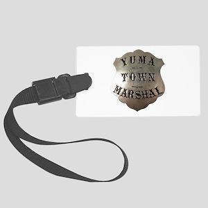 Yuma Town Marshal Luggage Tag