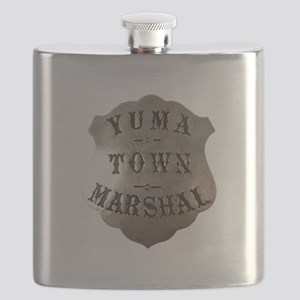 Yuma Town Marshal Flask
