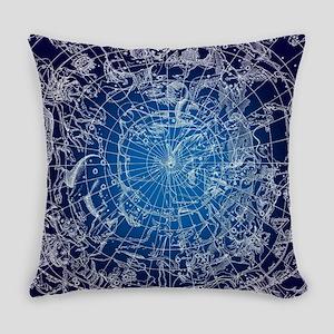 Celestial Map Everyday Pillow