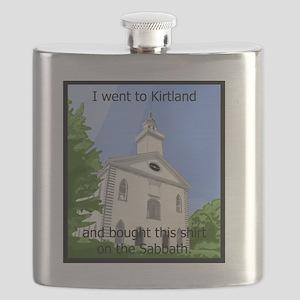 Kirtland Tshirt 10x10 Flask