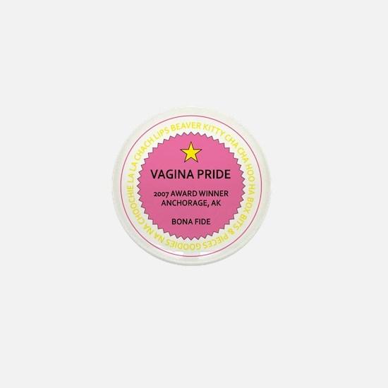 Vagina-Pride-Sticker Mini Button