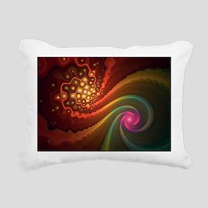 liquid_crystal Rectangular Canvas Pillow