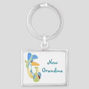 57 new grandma Landscape Keychain