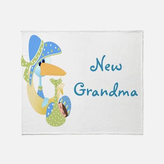 57 new grandma Throw Blanket