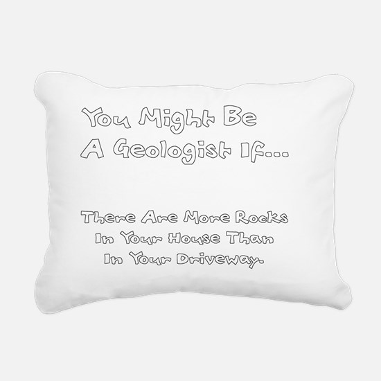geoHouseRocksW Rectangular Canvas Pillow