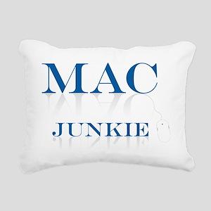 2-Mac_junkie Rectangular Canvas Pillow