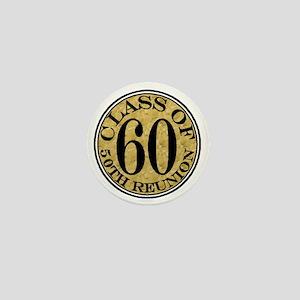 Gold Round Reunion 50 Mini Button