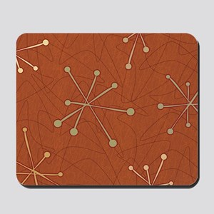 Vintage Wallpaper Design Mousepad