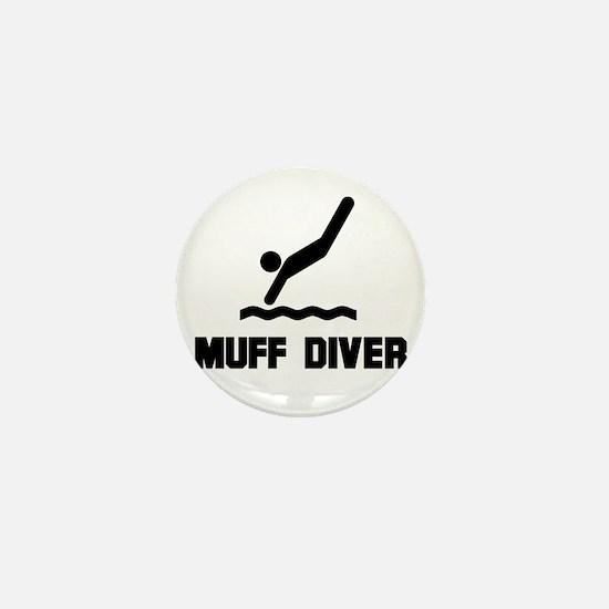 Muff Diver 1 Mini Button