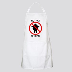 No Fat Chicks 1 Apron