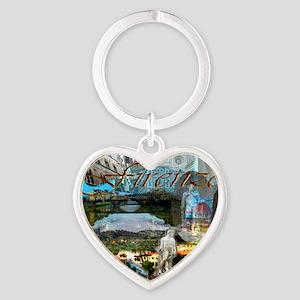 florence13a-10x10 Heart Keychain
