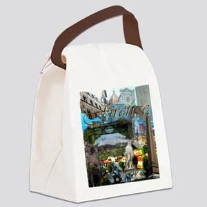 florence13a-10x10 Canvas Lunch Bag