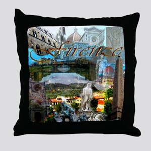 florence13a-10x10 Throw Pillow