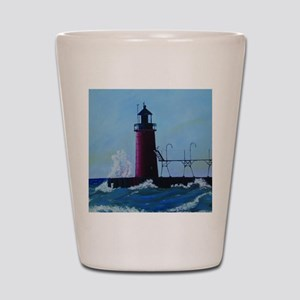 South Haven Lighthouse Shot Glass