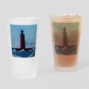 South Haven Lighthouse Drinking Glass