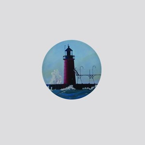 South Haven Lighthouse Mini Button