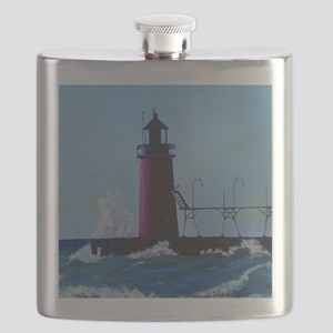 South Haven Lighthouse Flask