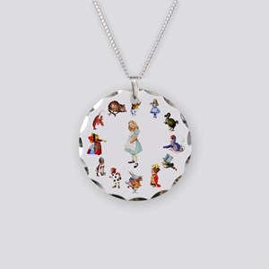 2-WONDERLAND_ ALICE JWSMITH  Necklace Circle Charm