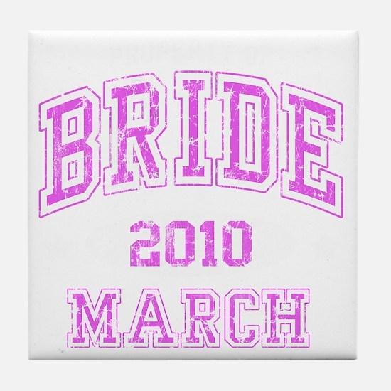 BRIDE2010MARCH Tile Coaster