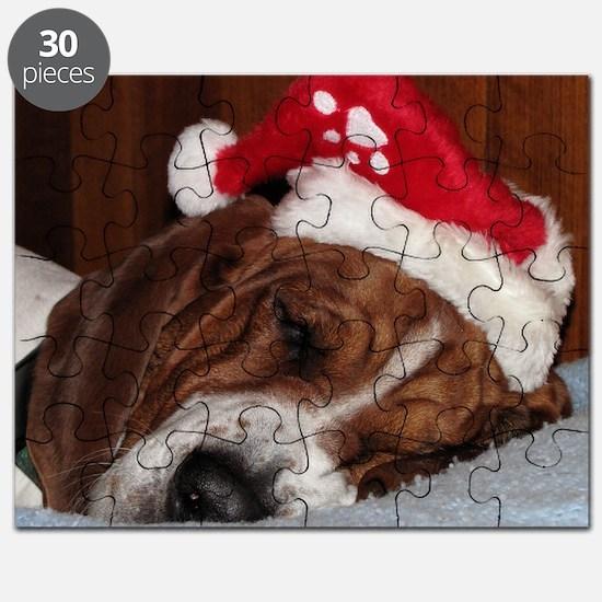 Christmas Basset Puzzle
