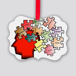 puzzleb Picture Ornament