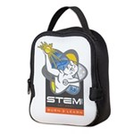 STEM.Org Spirit Logo Neoprene Lunch Bag