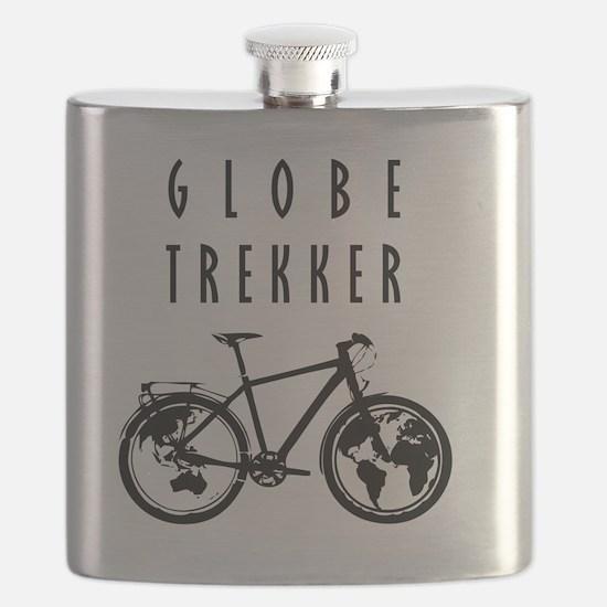 bike globeREDO4white Flask