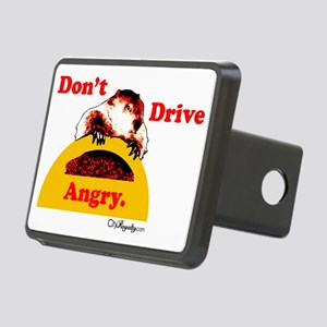 Dont Drive Angry Rectangular Hitch Cover