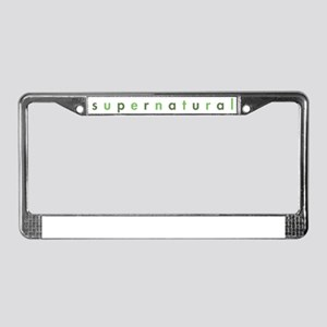 SUPERNATURAL-lcGGaltb License Plate Frame