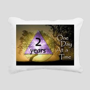 2-ODAAT2 Rectangular Canvas Pillow