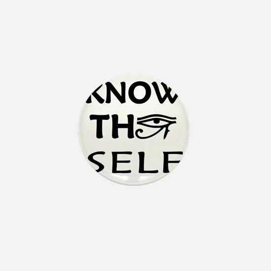 KNOW THY SELF Mini Button