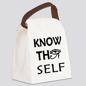 KNOW THY SELF Canvas Lunch Bag
