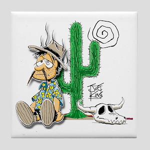 lost-dutchman-cactus Tile Coaster
