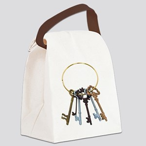 KeyChainAntique070209 Canvas Lunch Bag